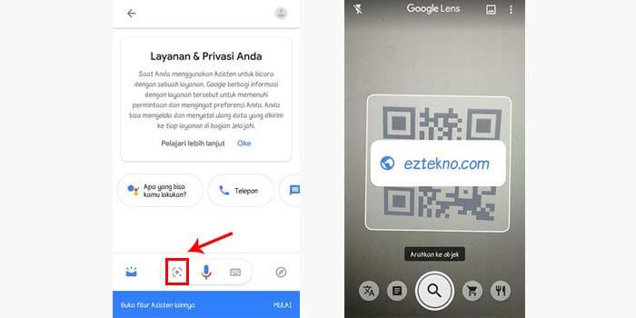 cara scan barcode di hp android tanpa aplikasi