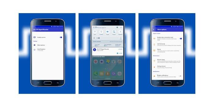 4G LTE Aplikasi Penguat Sinyal