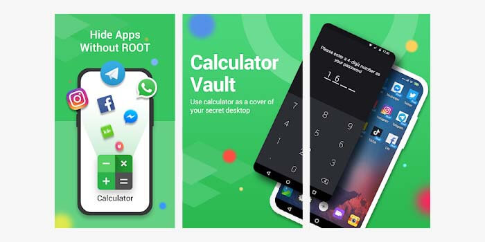 cara menyembunyikan aplikasi di dalam kalkulator