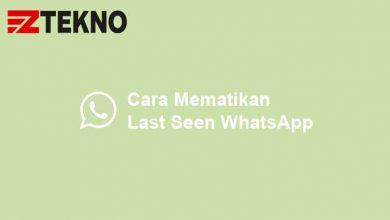 Cara Mematikan Last Seen WhatsApp