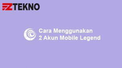 Cara Menggunakan 2 Akun Mobile Legend
