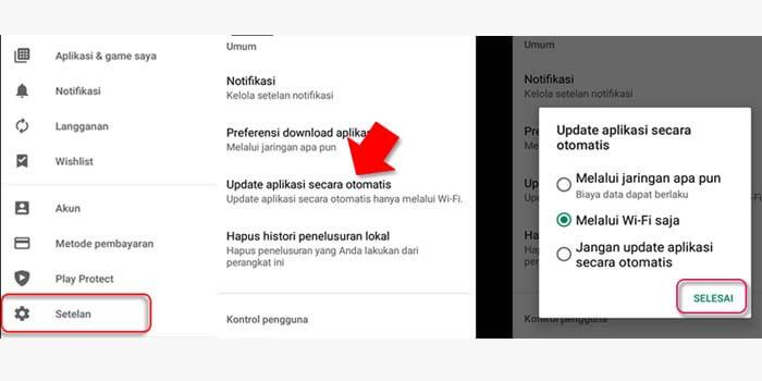 Cara memperbarui aplikasi instagram di HP Android