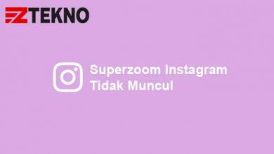 Superzoom Instagram Tidak Muncul
