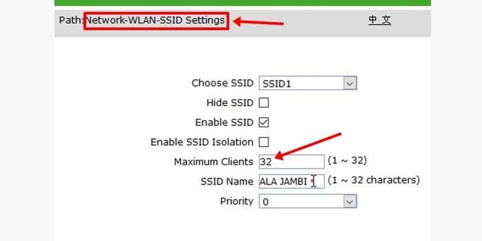 cara membatasi pengguna wifi di modem zte