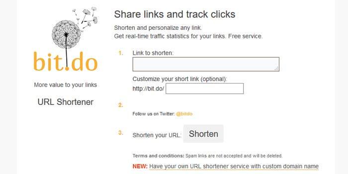 cara memperpendek link referral