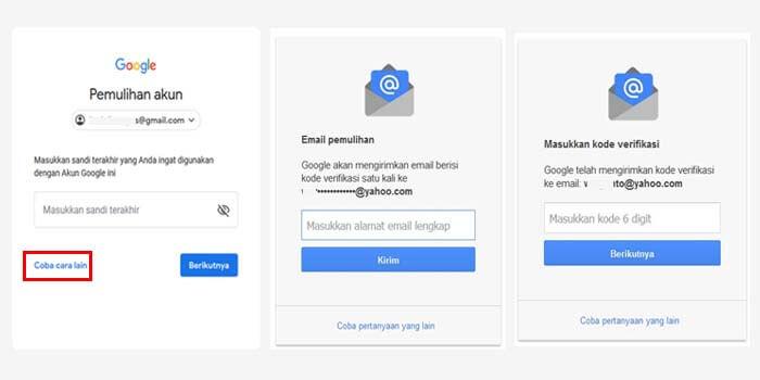 cara mengatasi lupa password gmail yang nomor hp sudah tidak aktif