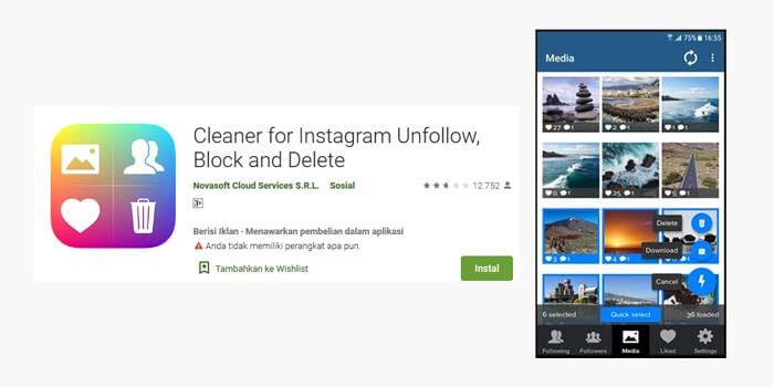 cara menghapus foto dan video banyak sekaligus di instagram