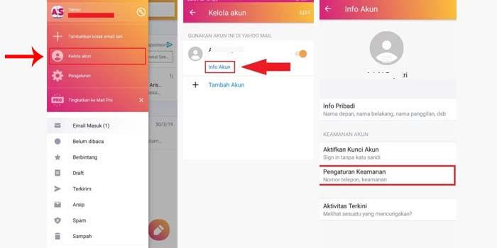 cara mengubah password yahoo di aplikasi android