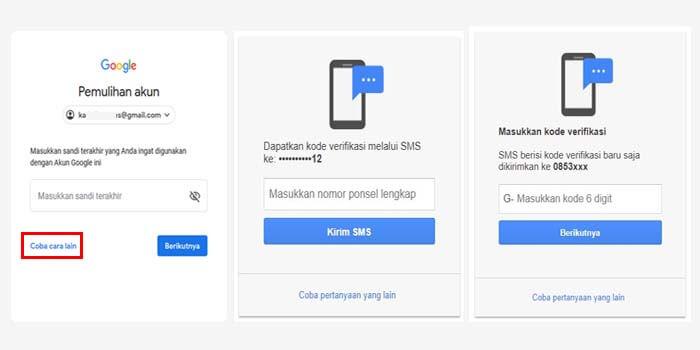 4 Cara Mengatasi Lupa Password Gmail Ampuh