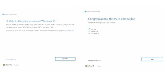 cara update windows 10 ke versi terbaru
