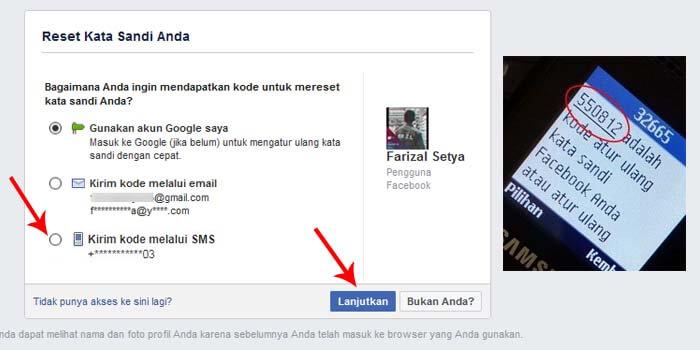 Cara Membuka Facebook Lupa Kata Sandi Bisa Tanpa Nomor Hp Dan Email Teknologi Id
