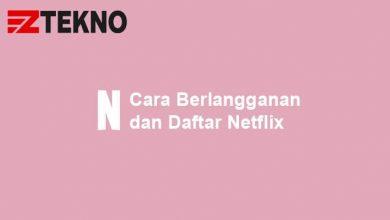 Cara Berlangganan Netflix