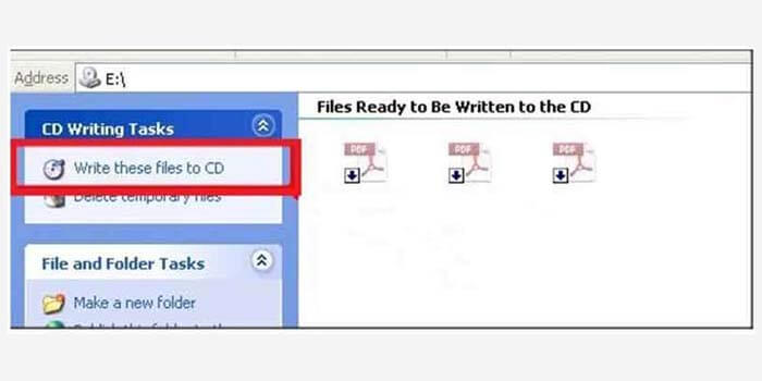 Cara burning CD Windows XP