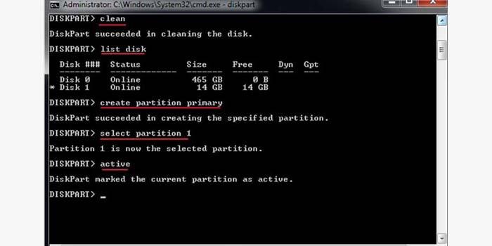 cara format flashdisk lewat cmd