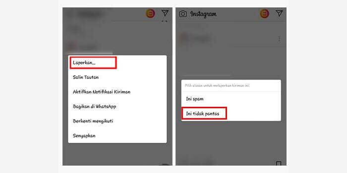 cara menghapus akun instagram orang lain di hp