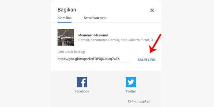 cara mengubah link google maps jadi barcode
