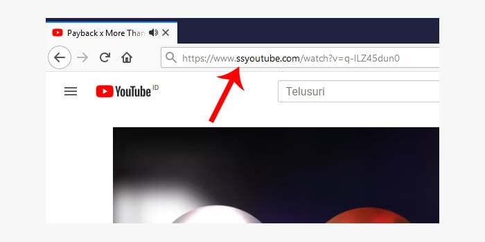 download video youtube ss di laptop