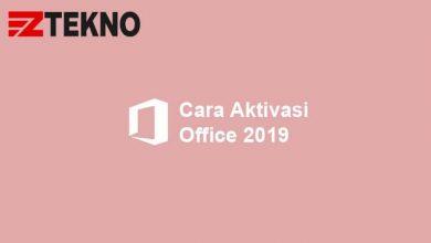 Cara Aktivasi Office 2019