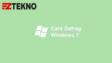 Cara Defrag Windows 7