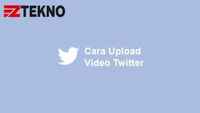 Cara Upload Video Twitter