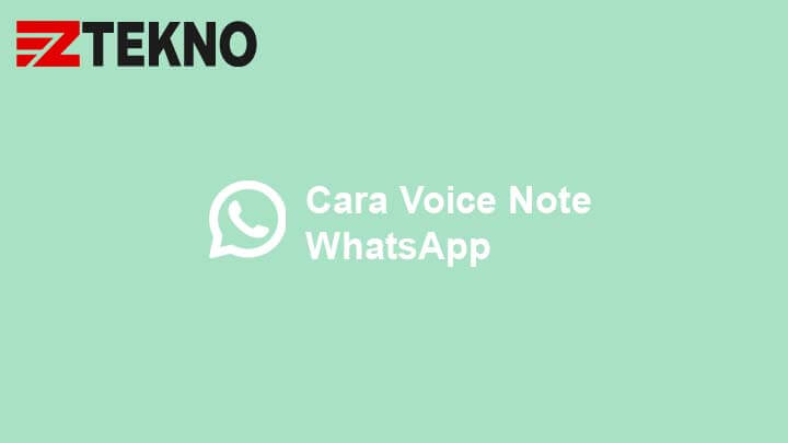 Cara Voice Note WhatsApp