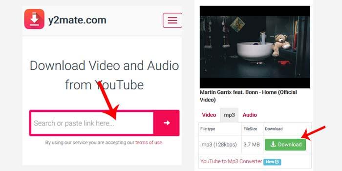 cara download mp3 dari youtube secara online
