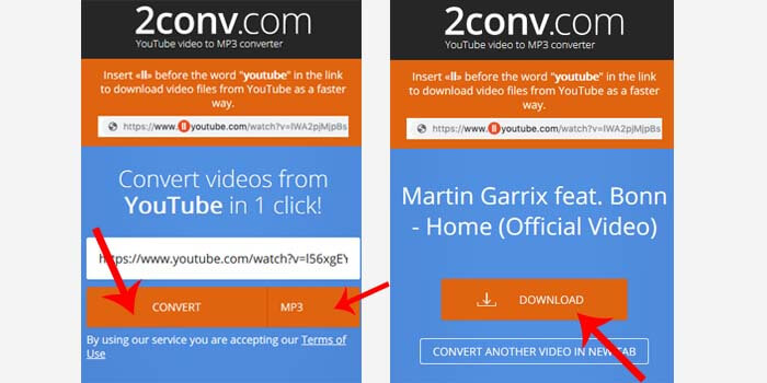 cara download lagu dari youtube secara online
