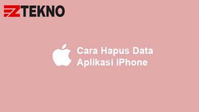 Cara Hapus Data Aplikasi iPhone