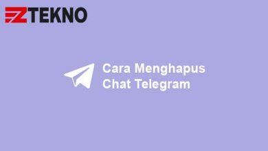 Cara Menghapus Chat Telegram