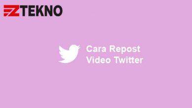 Cara Repost Video Twitter