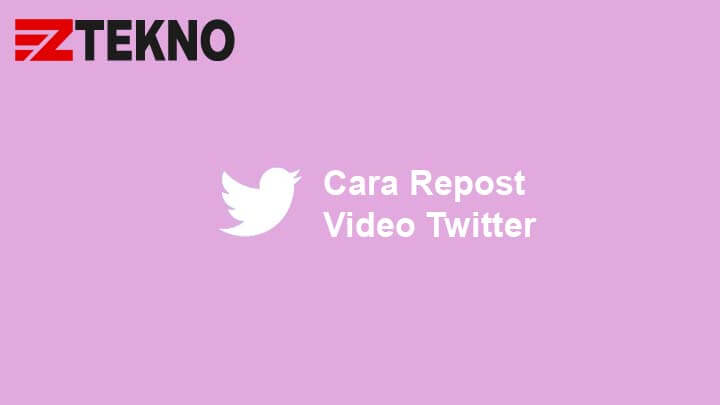 Cara Repost Video Twitter