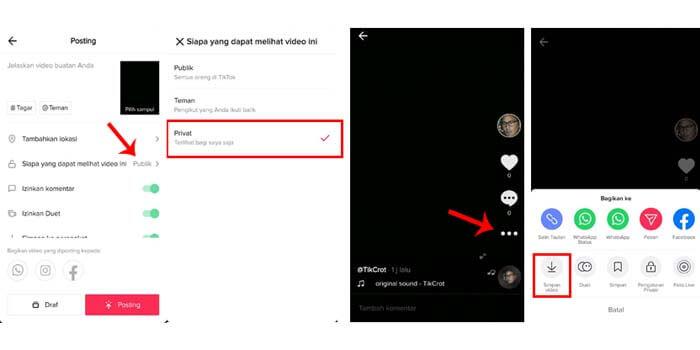 5 Cara Menyimpan Video Tiktok Tanpa Watermark Terbaru
