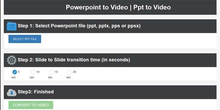convert powerpoint ke video