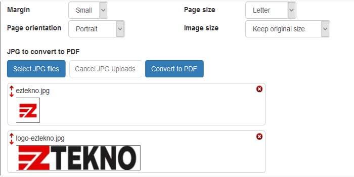 cara merubah jpg ke pdf secara online