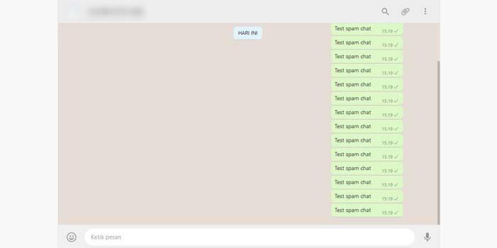 cara spam chat wa tanpa aplikasi