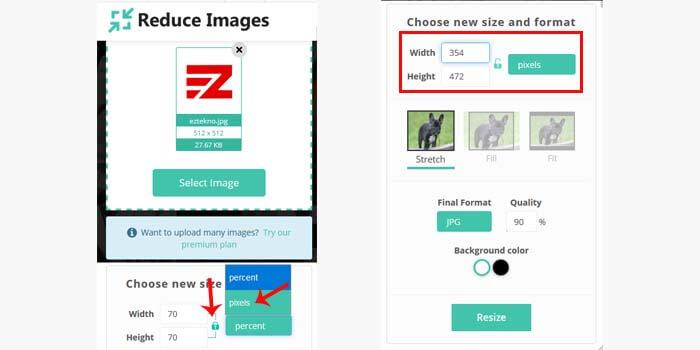 cara ubah ukuran foto menjadi 3x4 online