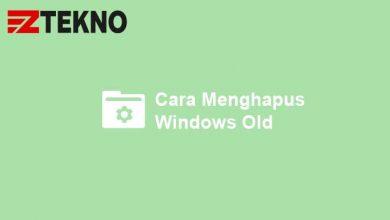 Cara Menghapus Windows Old
