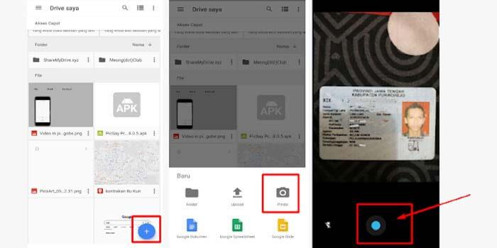 4 Cara Scan Dokumen Foto Ijazah Ktp Di Hp Android