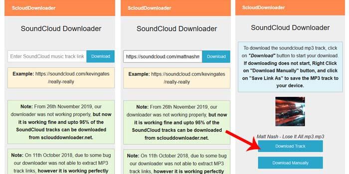 cara download lagu soundcloud di hp android