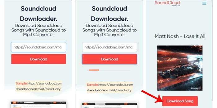 cara download lagu soundcloud mp3