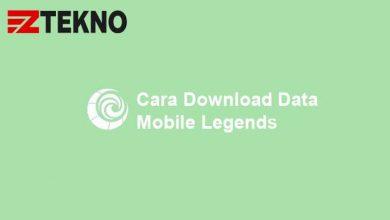Cara Download Data Mobile Legends