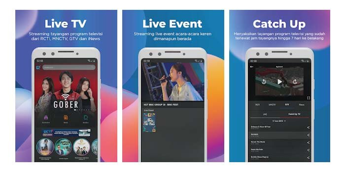 Aplikasi TV Online RCTI