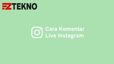 Cara Komentar Live Instagram