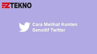 Cara Melihat Konten Sensitif Twitter