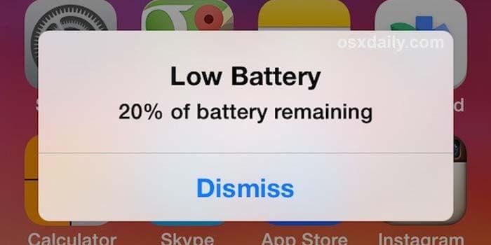 Cara Merawat Baterai iPhone dengan Hindari Penggunaan Baterai Sampai Habis