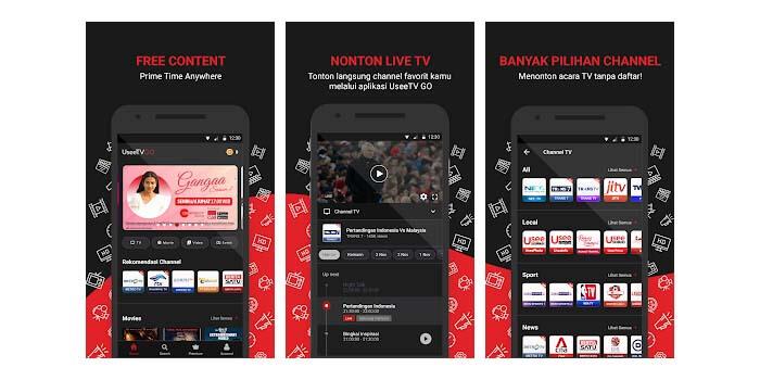 Aplikasi TV Online UseeTV GO