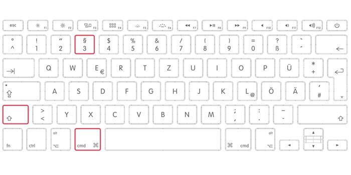 cara screen capture macbook