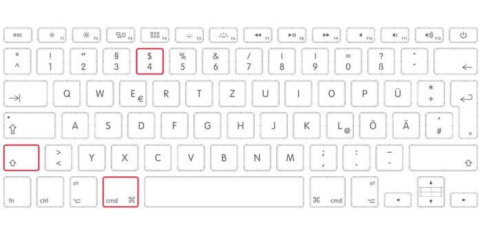 screenshot layar macbook