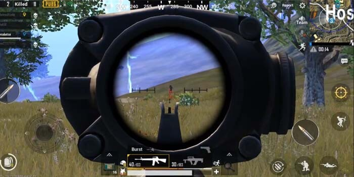 Latih Akurasi Menembak