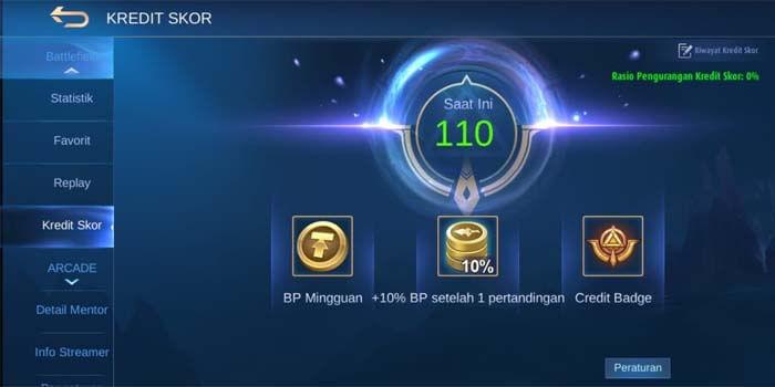 Penyebab Kredit Skor Player Mobile Legends Berkurang